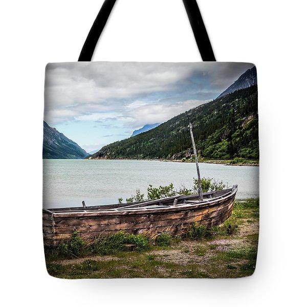 Old Sailboat Tote Bag