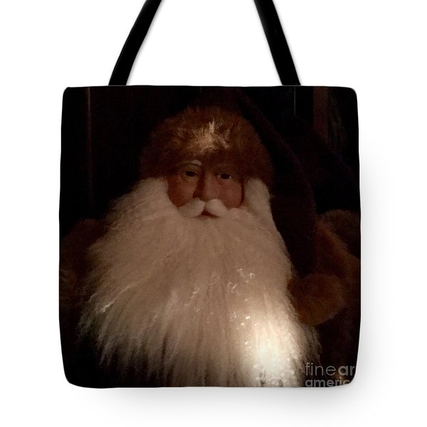 Old Saint Nick Tote Bag