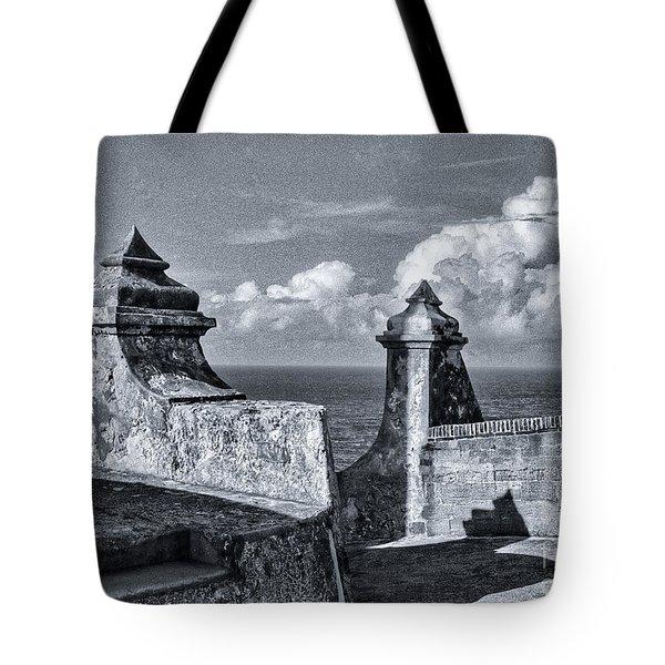 Old San Jaun Fort Tote Bag