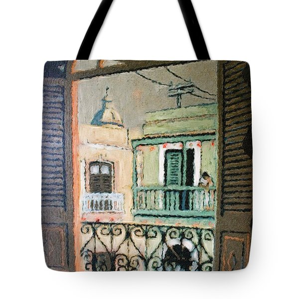 Old San Juan View Tote Bag