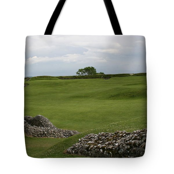 Old Sarum Tote Bag by Mary Mikawoz
