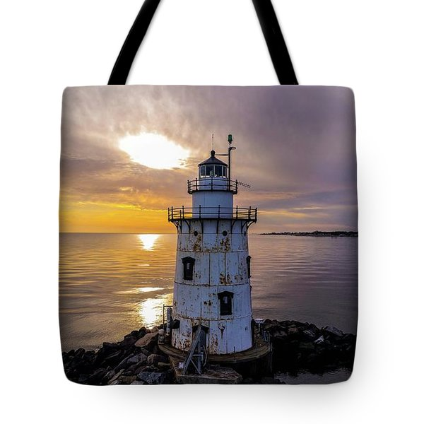Old Saybrook Outer Light Tote Bag