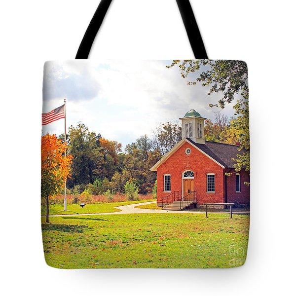 Old Schoolhouse-wildwood Park Tote Bag