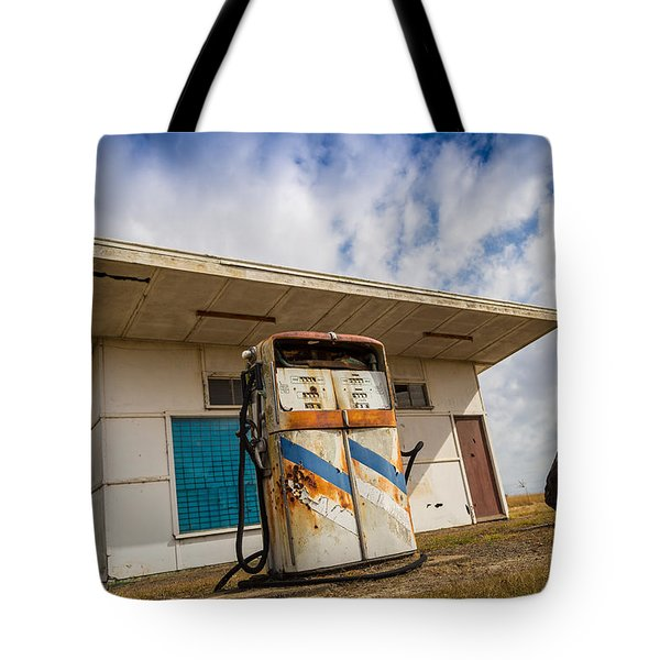 Tote Bag featuring the photograph Old Servo by Keith Hawley