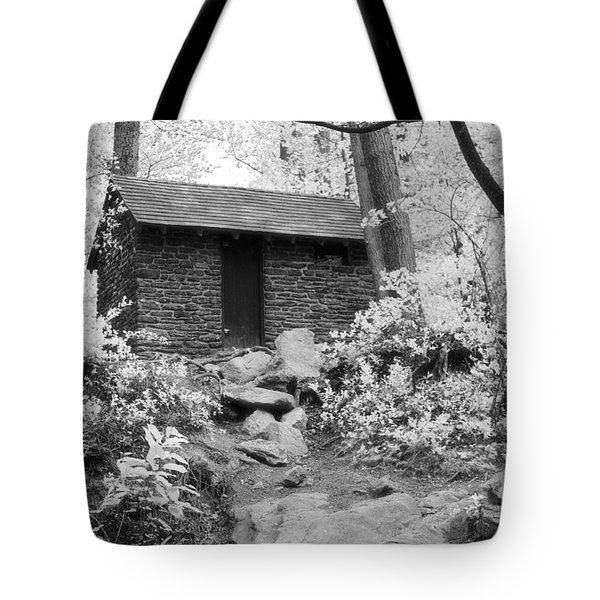 Old Shack Tote Bag
