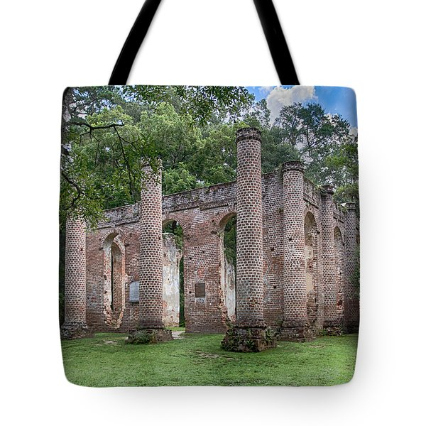 Old Sheldon Church Tote Bag