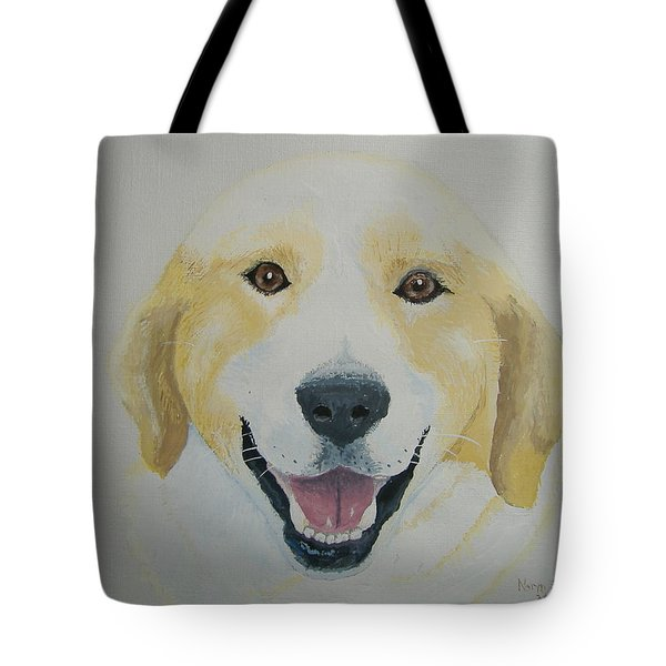 Tote Bag featuring the painting Old Shep by Norm Starks