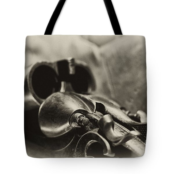 Old Shotgun Tote Bag
