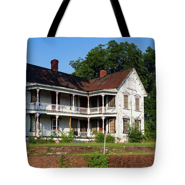 Old Shull Mansion Tote Bag