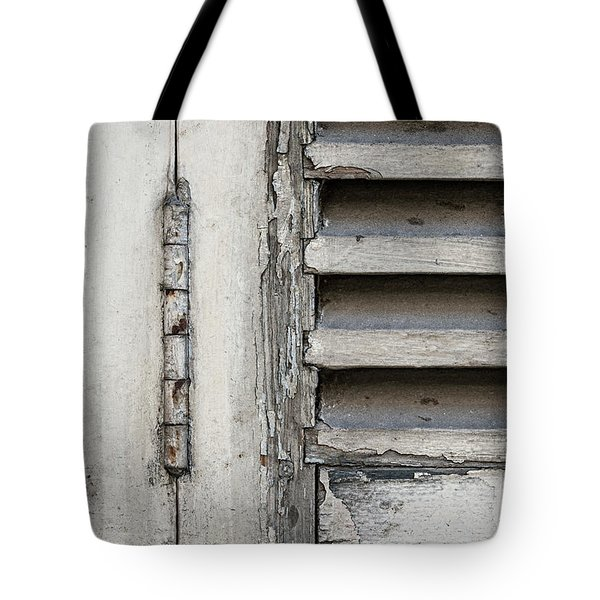 Tote Bag featuring the photograph Old Shutters by Elena Elisseeva