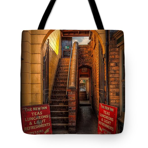 Old Signs Tote Bag by Adrian Evans