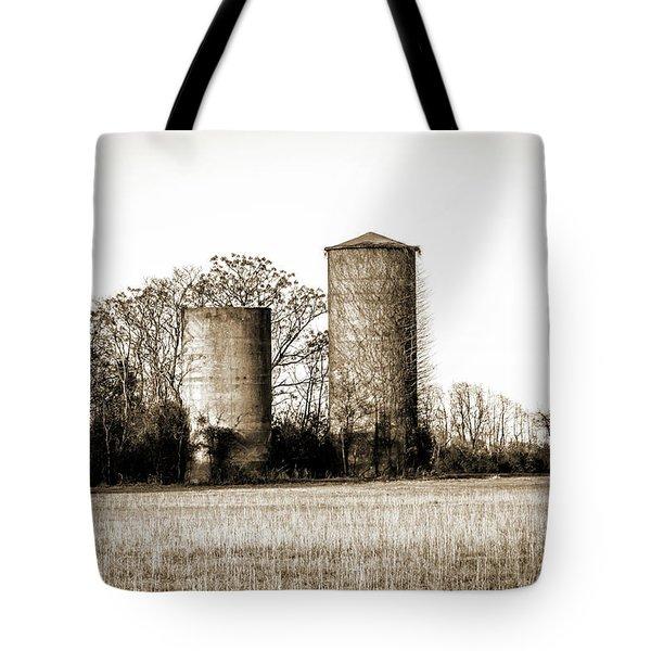 Old Silos Tote Bag