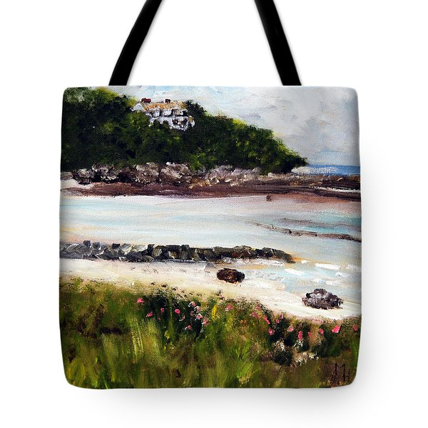 Old Silver Beach Falmouth Tote Bag