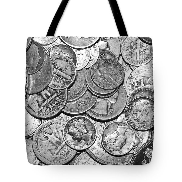 Old Silver Tote Bag