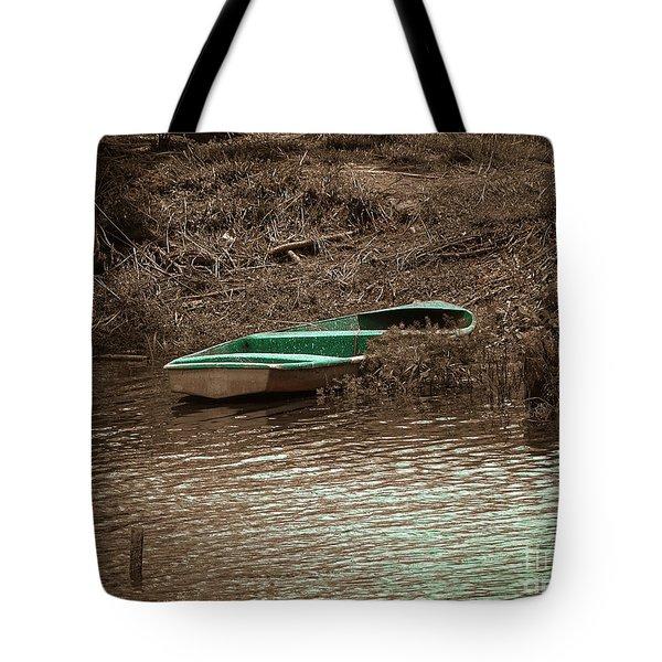Old Skiff Tote Bag