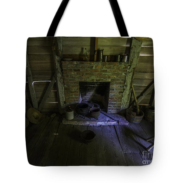 Old Slave Quarters Tote Bag