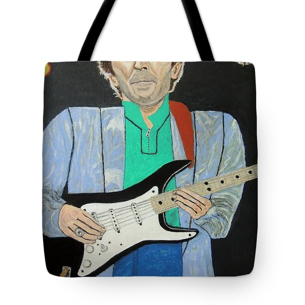 Old Slowhand. Tote Bag by Ken Zabel