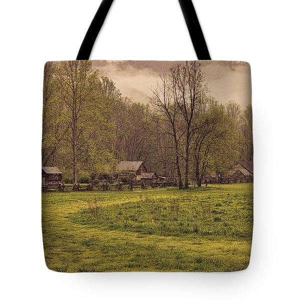 Old Smoky Mountain Homesteads Tote Bag