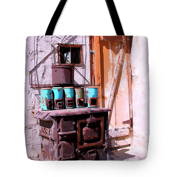 Old Soldier Tote Bag by William Dey