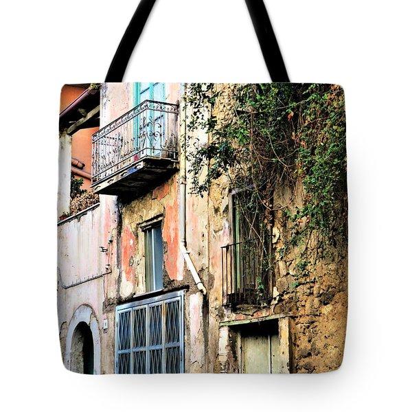 Old Sorrento Street Tote Bag