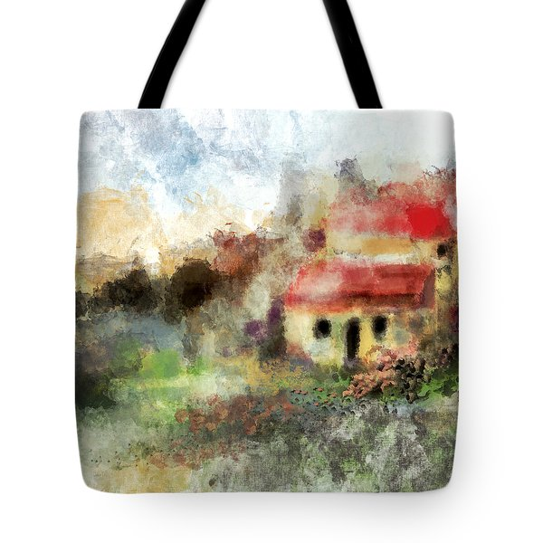 Old Spanish Village Tote Bag