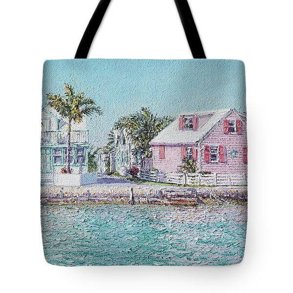 Old Spanish Wells Tote Bag
