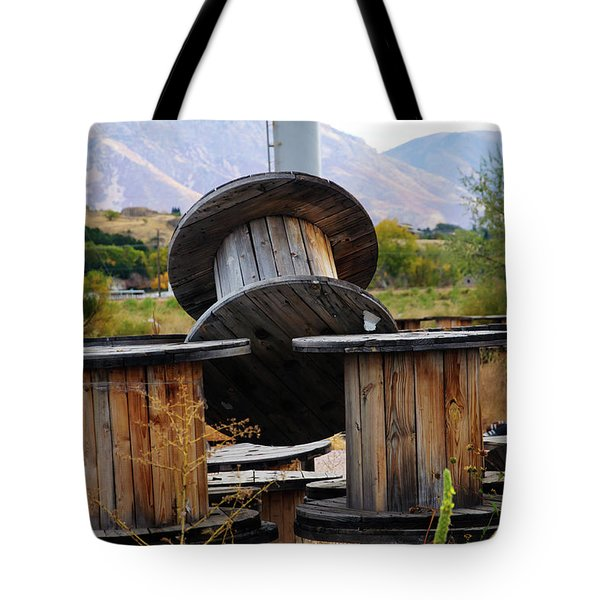 Old Spool Tote Bag