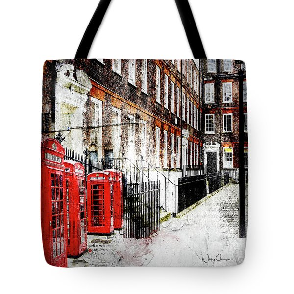 Old Square Tote Bag
