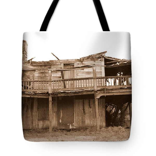 Old Stagecoach Stop Tote Bag