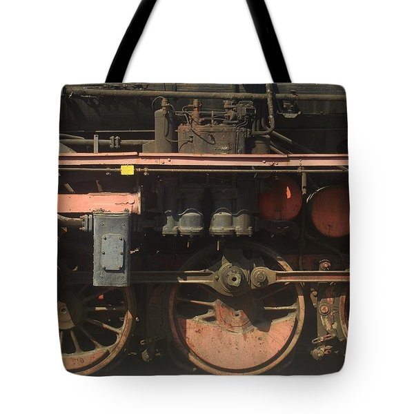 Old  Steam Train ...france Tote Bag