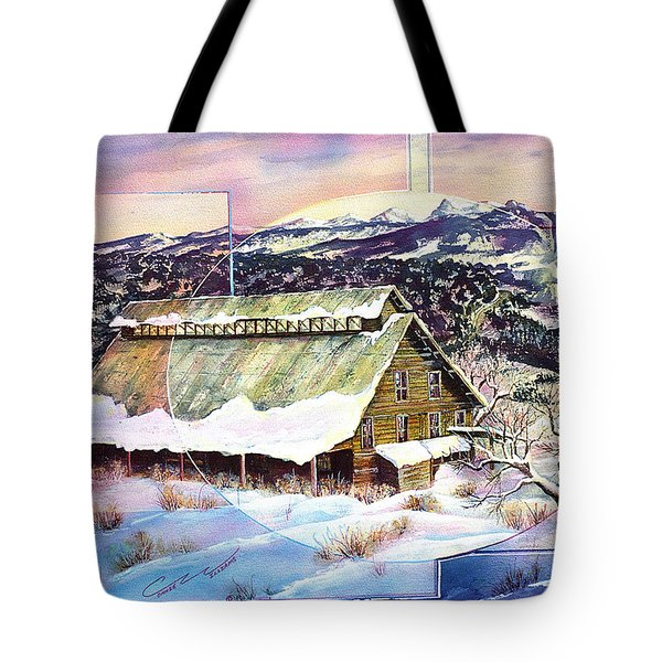 Old Stelty Packing Shed Tote Bag