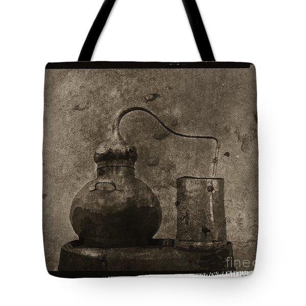 Tote Bag featuring the digital art Old Still by Megan Dirsa-DuBois