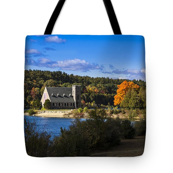 Old Stone Church. West Boylston, Massachusetts. Tote Bag