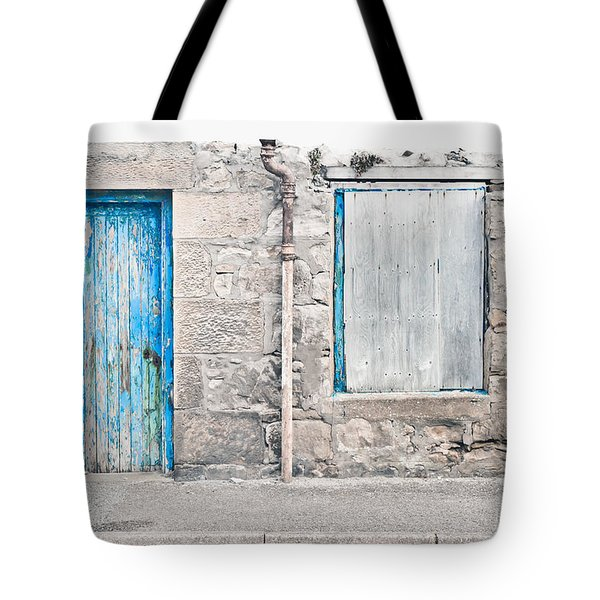 Old Stone Cottage Tote Bag