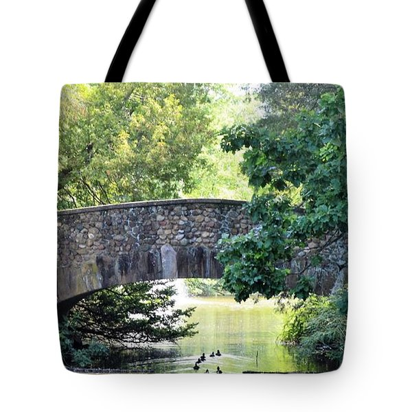 Old Stone Walkway Tote Bag