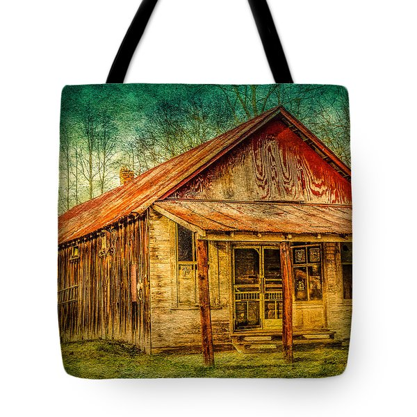 Old Store Tote Bag by Phillip Burrow