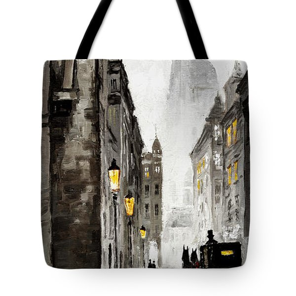 Old Street Tote Bag by Yuriy  Shevchuk