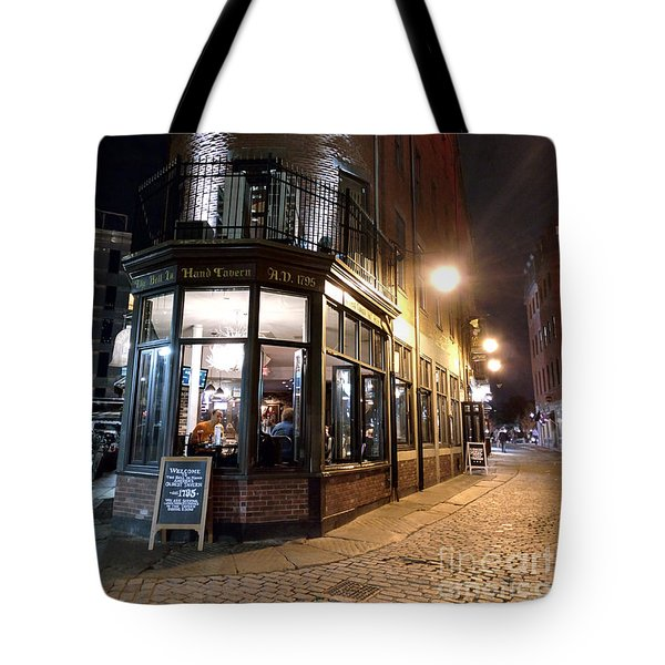 Old Tavern Boston Tote Bag