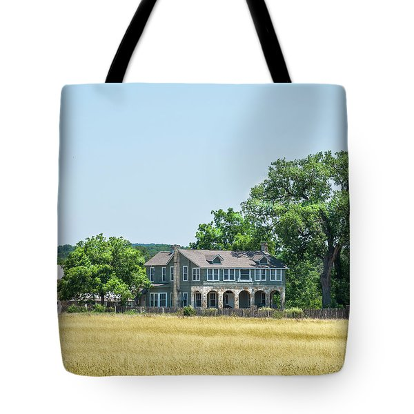 Old Texas Farm House Tote Bag