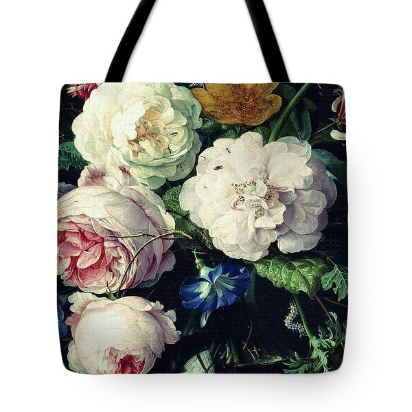 Old Time Botanical Tote Bag