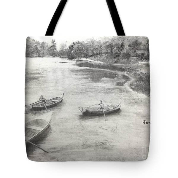 Old Time Camp Days Tote Bag