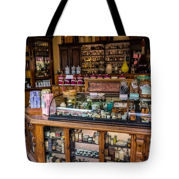 Old Time Cures Tote Bag