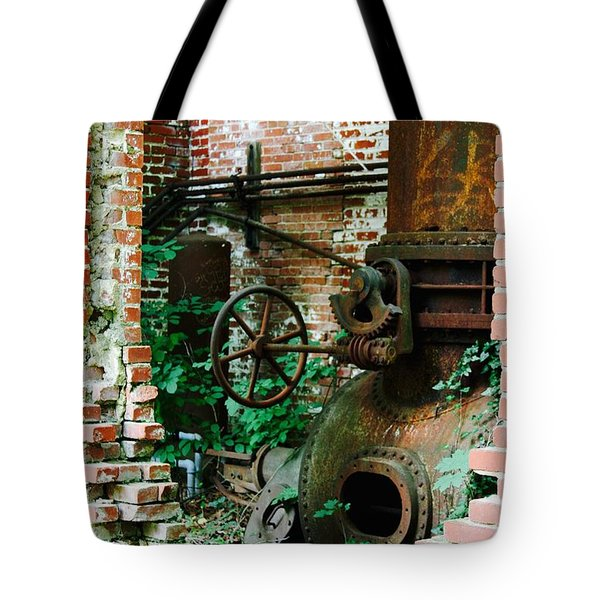 Old Time Views Tote Bag