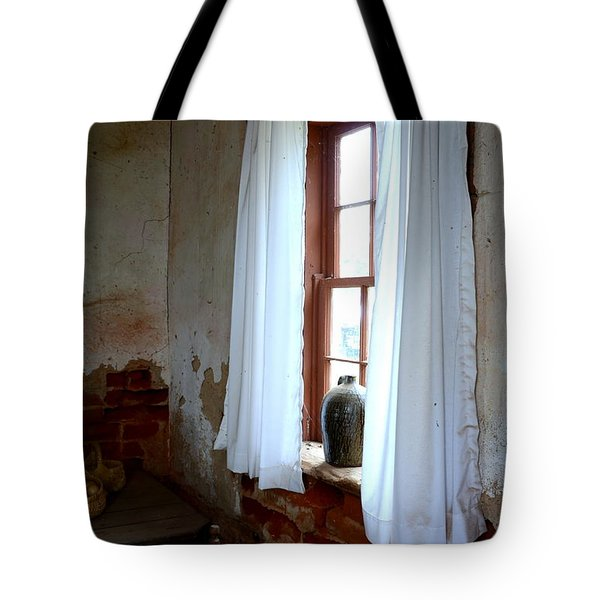 Old Time Window Tote Bag