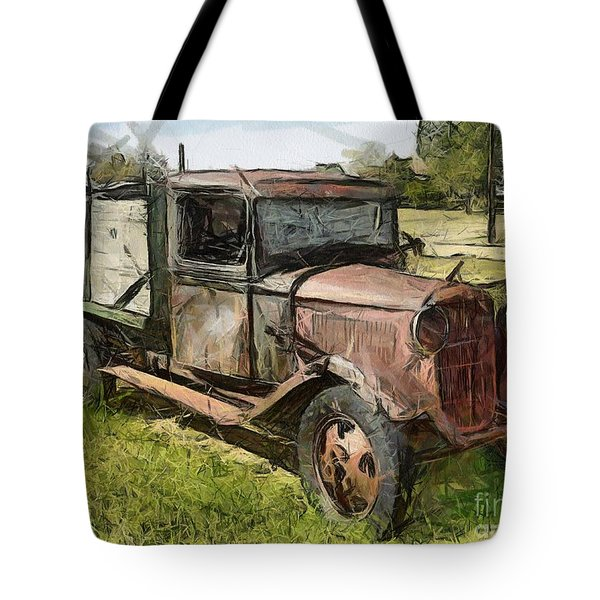 Old Timer Tote Bag by Murphy Elliott