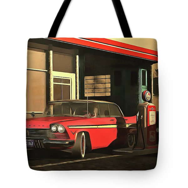 Old-timer Plymouth Tote Bag