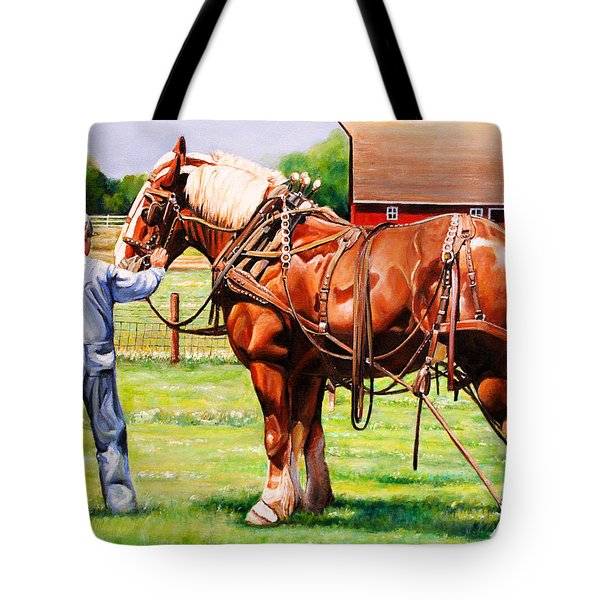 Old Timers Tote Bag by Toni Grote