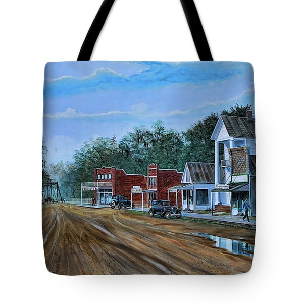 Old Town Breaux Bridge La Tote Bag
