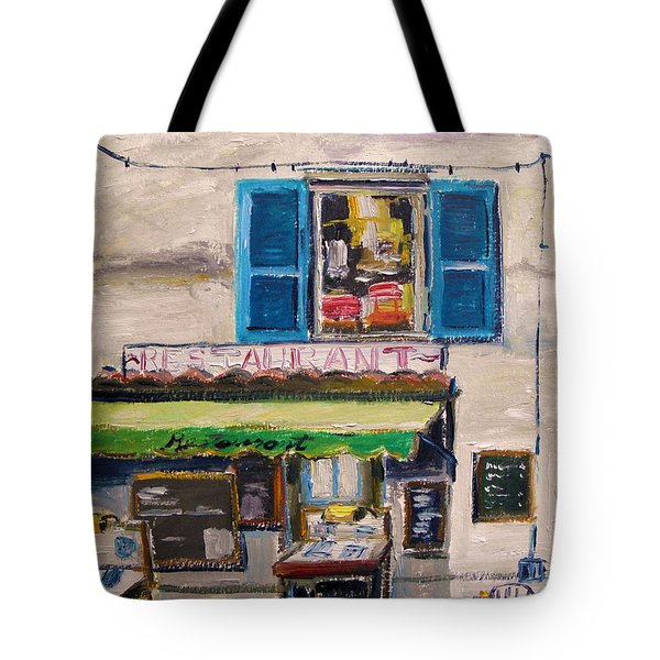 Old Town Cafe Tote Bag by John Williams