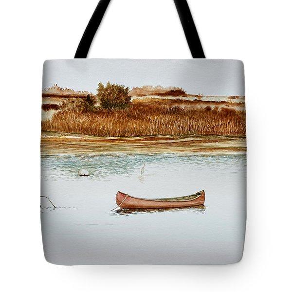 Old Town Canoe Menemsha Mv Tote Bag